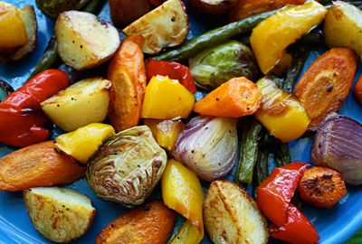 Grilled Canna-Veggies