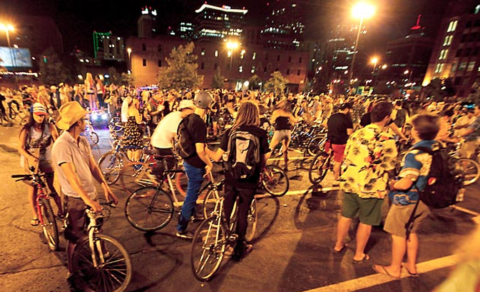 Dress Up and Bike with Denver Cruiser Rides