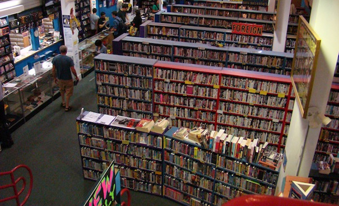 Rent a Movie at Scarecrow