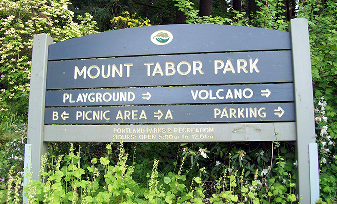 Hike Trails in Mt. Tabor Park