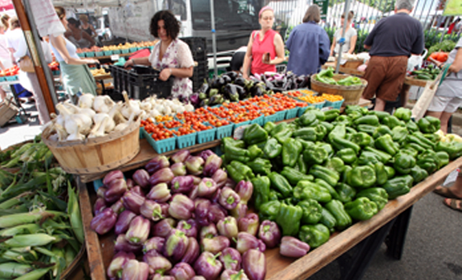 Stop by the Dupont Circle FRESHFARM Market