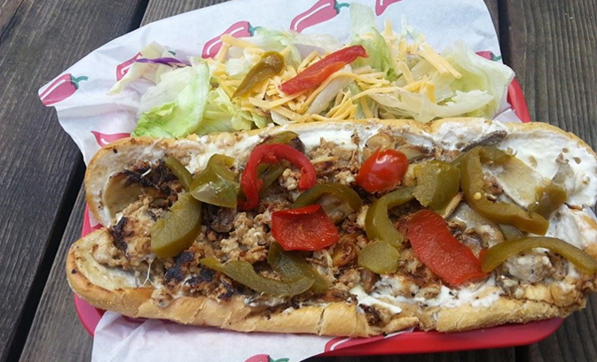 Grant's Philly Cheesesteaks