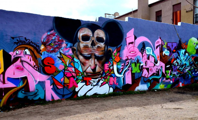Admire Street Art in the Santa Fe District